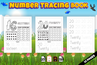 Print on Demand: Number Tracing Book for Preschoolers-kdp Graphic KDP Interiors By Kristy Coloring 3