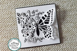 Pop Up Floral Butterfly Mothers Day Svg Graphic Crafts By Cornelia 2