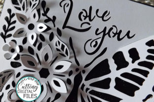 Pop Up Floral Butterfly Mothers Day Svg Graphic Crafts By Cornelia 5