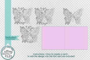 Pop Up Floral Butterfly Mothers Day Svg Graphic Crafts By Cornelia 6