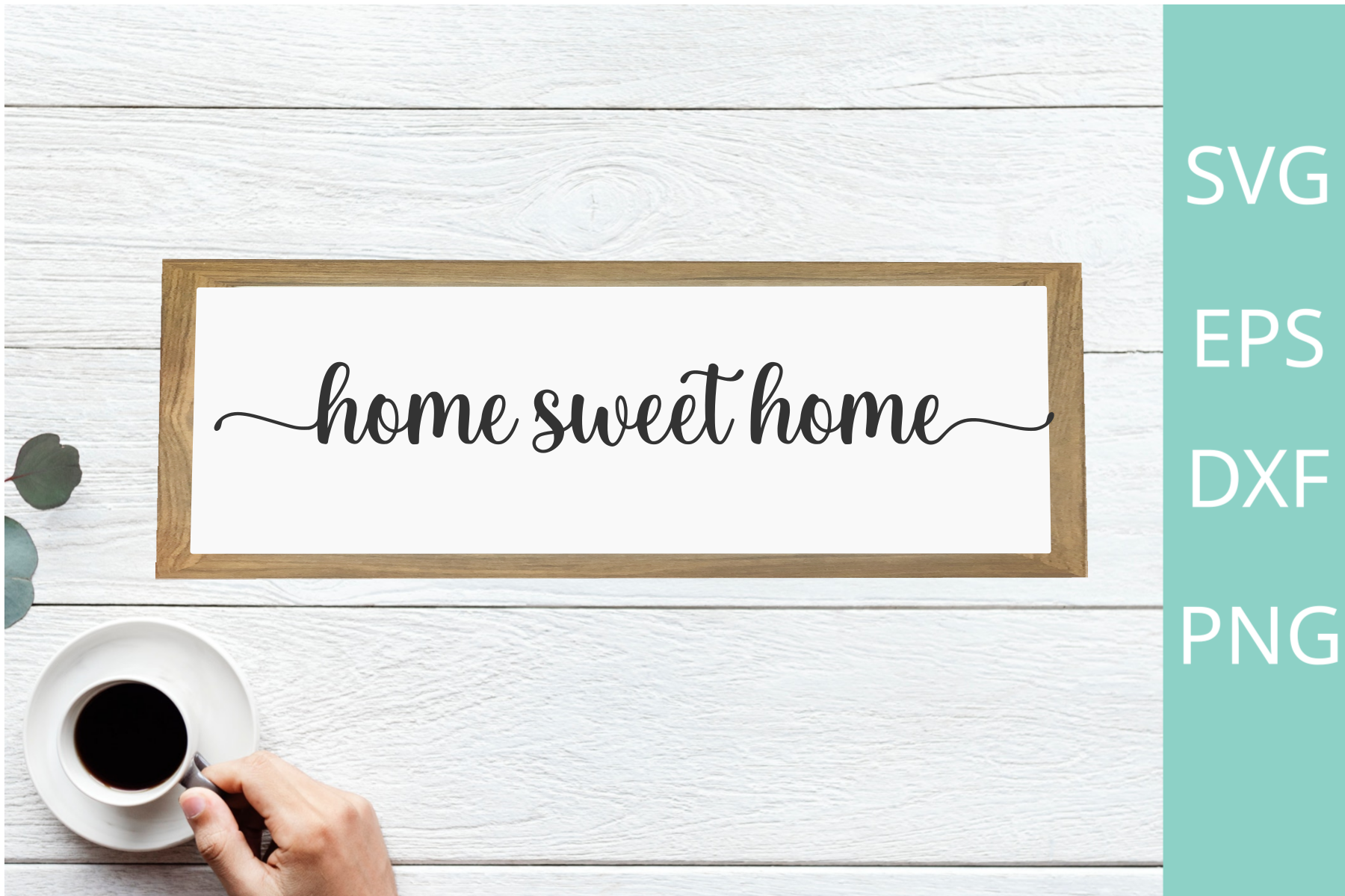 Home Sweet Home Svg File for Silhouette SVG File