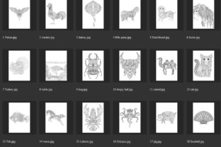 150 Animals for Adult Coloring Book - 2