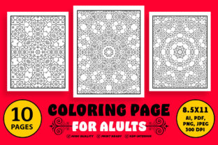 Coloring Book Page for Adults Graphic Coloring Pages & Books Adults By designdraft 1