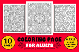 Coloring Book Page for Adults Graphic Coloring Pages & Books Adults By designdraft