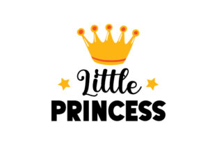 Little Princess Baby Craft Cut File By Creative Fabrica Crafts 1