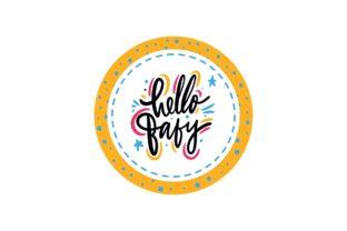Baby Shower Lettering Card Graphic Illustrations By zia studio