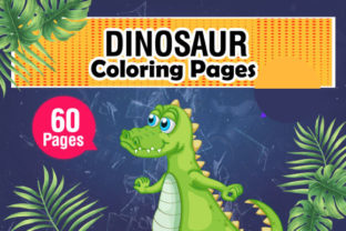 Dinosaur Coloring & Activity Pages Graphic Coloring Pages & Books Kids By KDP Master Studio 1