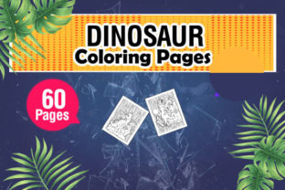 Dinosaur Coloring & Activity Pages Graphic Coloring Pages & Books Kids By KDP Master Studio 2