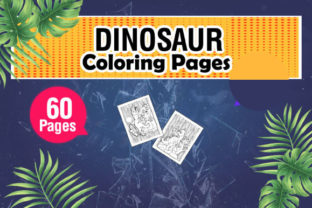Dinosaur Coloring & Activity Pages Graphic Coloring Pages & Books Kids By KDP Master Studio 3
