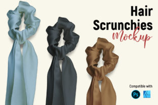 Hair Scrunchies   Product Mockup Graphic Product Mockups By Gumacreative 2