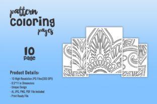 Print on Demand: KDP Interiors Pattern Coloring Pages Graphic Coloring Pages & Books Adults By fuad333 1