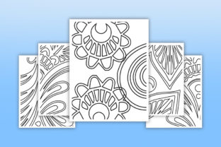 Print on Demand: KDP Interiors Pattern Coloring Pages Graphic Coloring Pages & Books Adults By fuad333 3