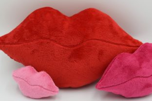 Lips Mother's Day Embroidery Design By nolimitsdesignPL