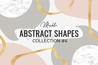 Marble Abstract Shapes #4 Graphic Illustrations By switzershop