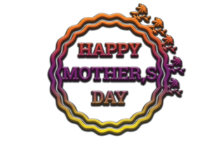 Print on Demand: Mother Day Design Graphic 3d Text Graphic 3D Houses By Hiumorfaruk0909