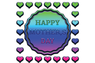 Print on Demand: Mother Day PNG Design Graphic 3d Text Graphic 3D Houses By Hiumorfaruk0909