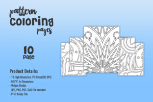 Print on Demand: Pattern Coloring Pages - KDP Interiors Graphic Coloring Pages & Books Adults By fuad333