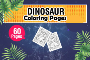Unique and Fun Dinosaur Coloring Pages Graphic Coloring Pages & Books Kids By KDP Master Studio 2
