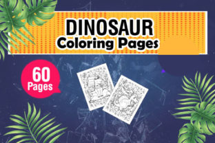Unique and Fun Dinosaur Coloring Pages Graphic Coloring Pages & Books Kids By KDP Master Studio 3