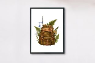 Watercolor Travel Clipart, Camping Graphic Illustrations By Arte de Catrin 4