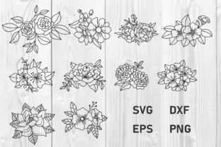 Print on Demand: Flowers Graphic Print Templates By dadan_pm