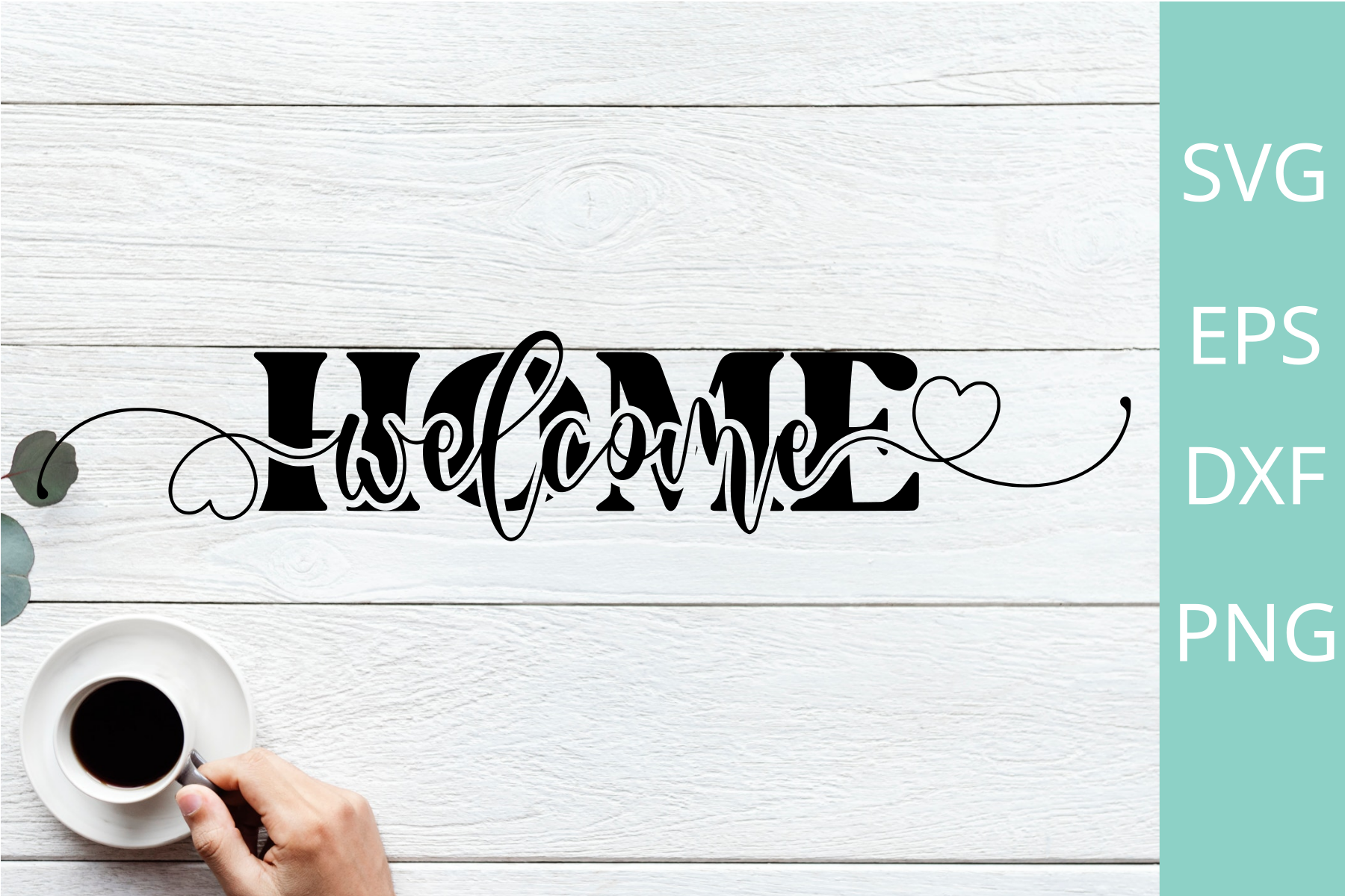 Welcome Home Sign Svg , Png Files SVG File