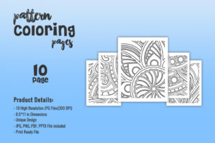 Print on Demand: KDP - Abstract Pattern Coloring Pages Graphic Coloring Pages & Books Adults By fuad333