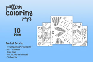 Print on Demand: KDP Coloring Abstract Pattern Pages Graphic Coloring Pages & Books Adults By fuad333 1