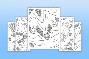 Print on Demand: KDP Coloring Abstract Pattern Pages Graphic Coloring Pages & Books Adults By fuad333 2