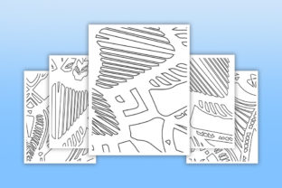 Print on Demand: KDP Coloring Abstract Pattern Pages Graphic Coloring Pages & Books Adults By fuad333 3