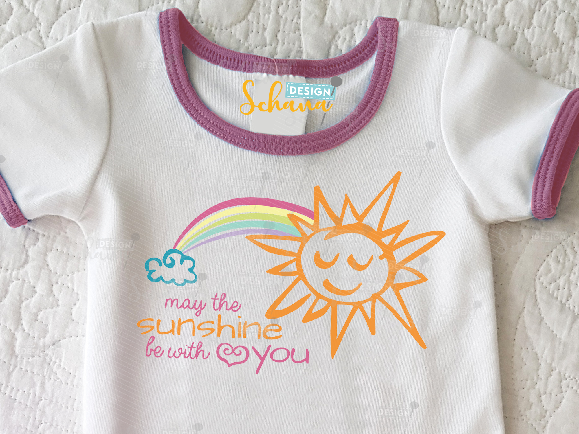 May the Sunshine Be with You SVG File