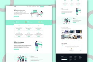 Print on Demand: Multipurpose Website Template Download Graphic Landing Page Templates By themesfusion