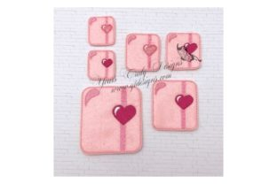 Planner Love Valentine's Day Embroidery Design By Yours Truly Designs
