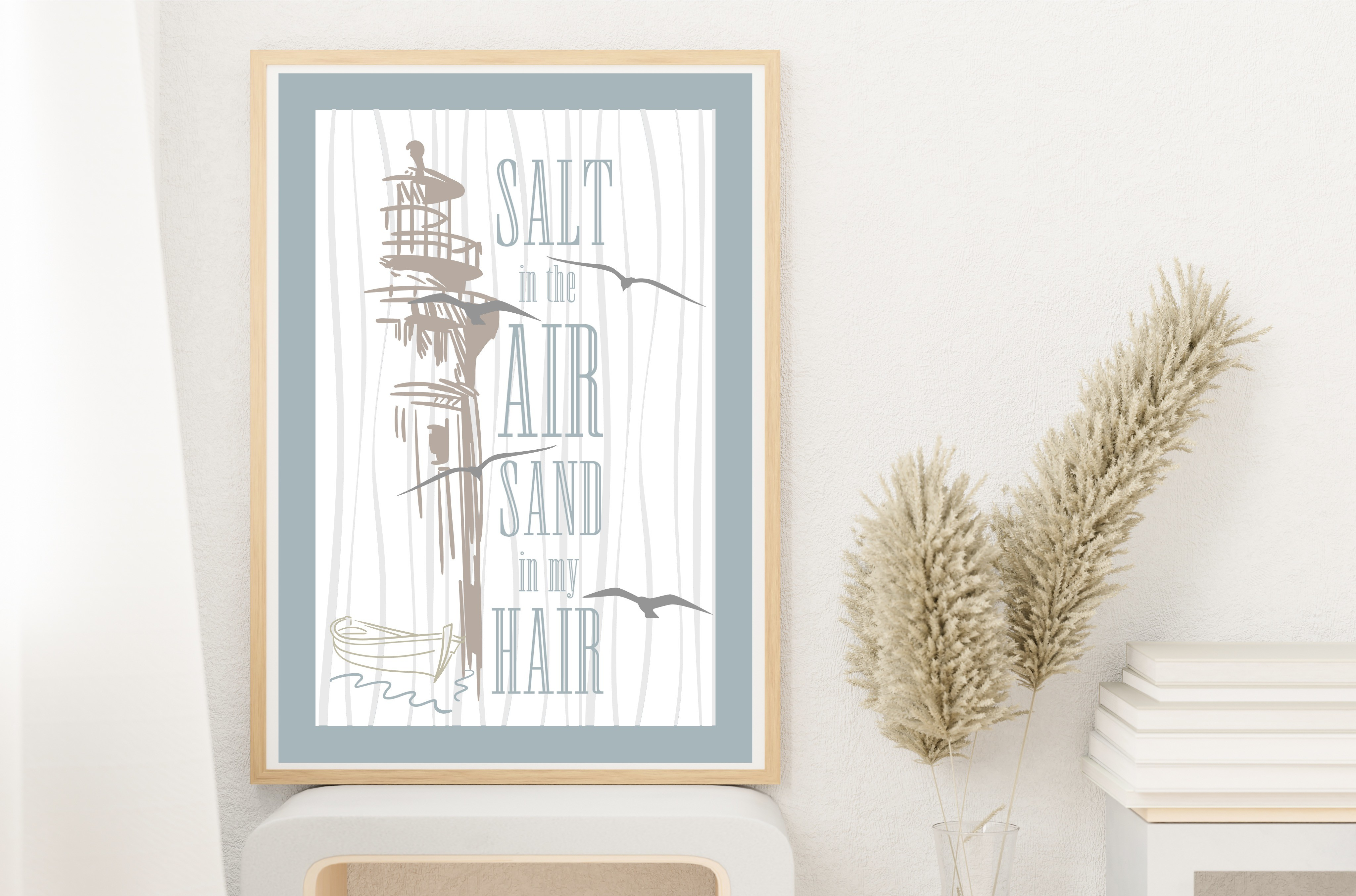Salt in the Air Sand in My... SVG File