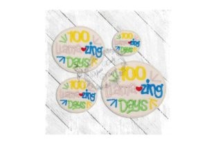 100 Llamazing Days Vacation Embroidery Design By Yours Truly Designs