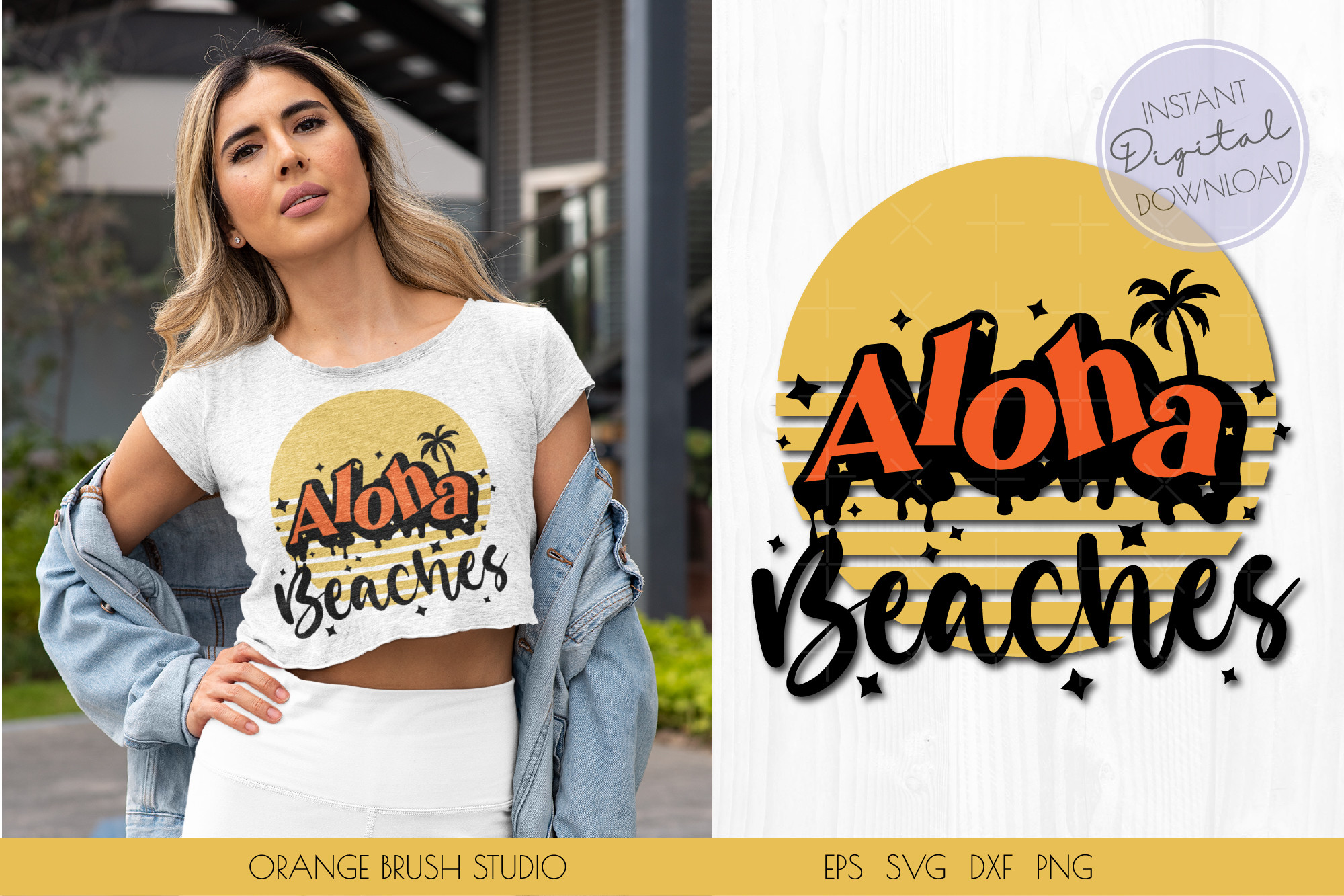 Aloha Beaches SVG. Beach Quotes SVG PNG SVG File