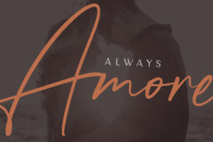Print on Demand: Forever Soulmates Script & Handwritten Font By Salt and Pepper Fonts 4