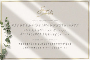 Print on Demand: Forever Soulmates Script & Handwritten Font By Salt and Pepper Fonts 6