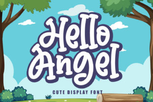 Print on Demand: Hello Angel Display Font By Subectype