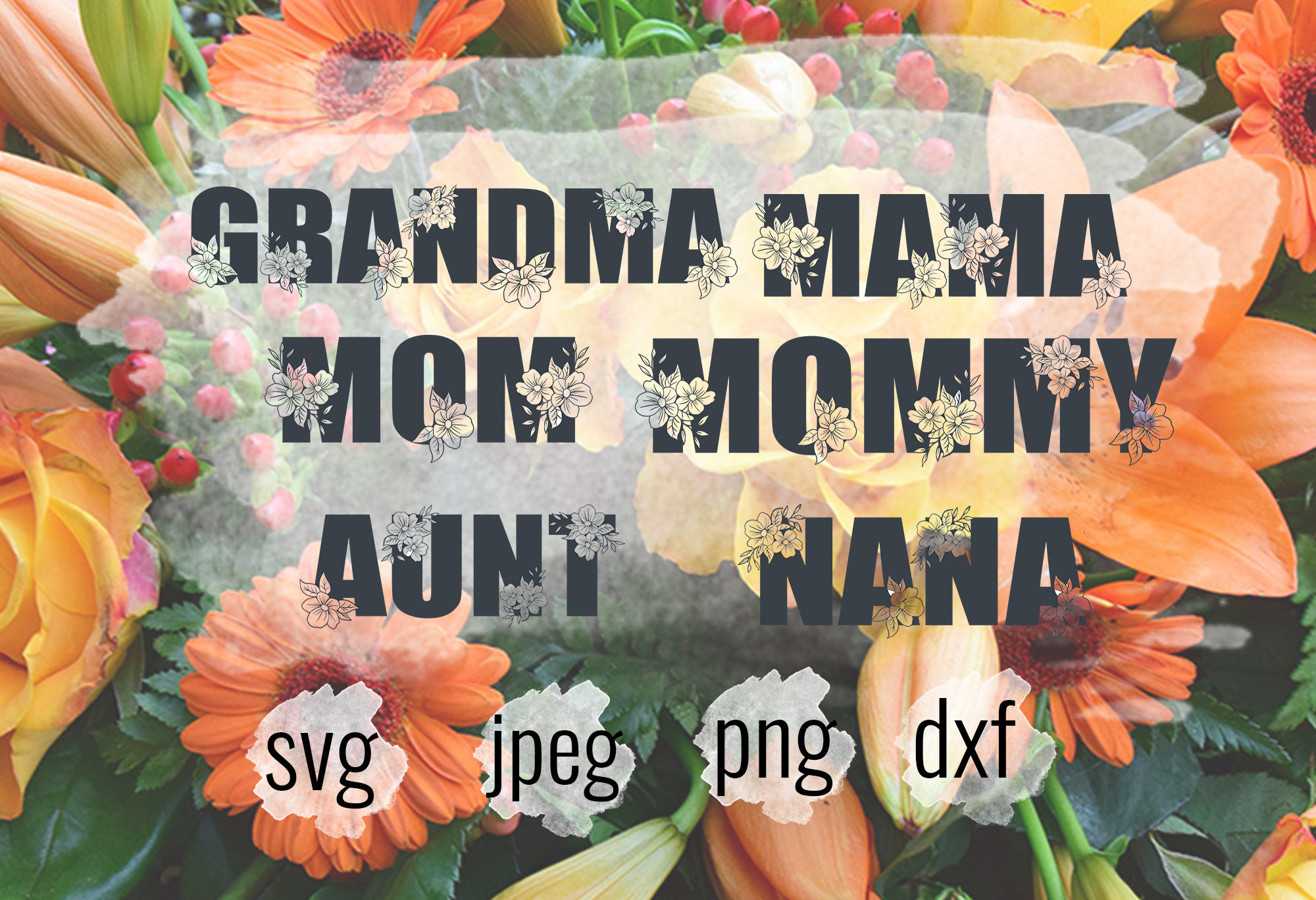 Mom, Mothers Day, Mom SVG File