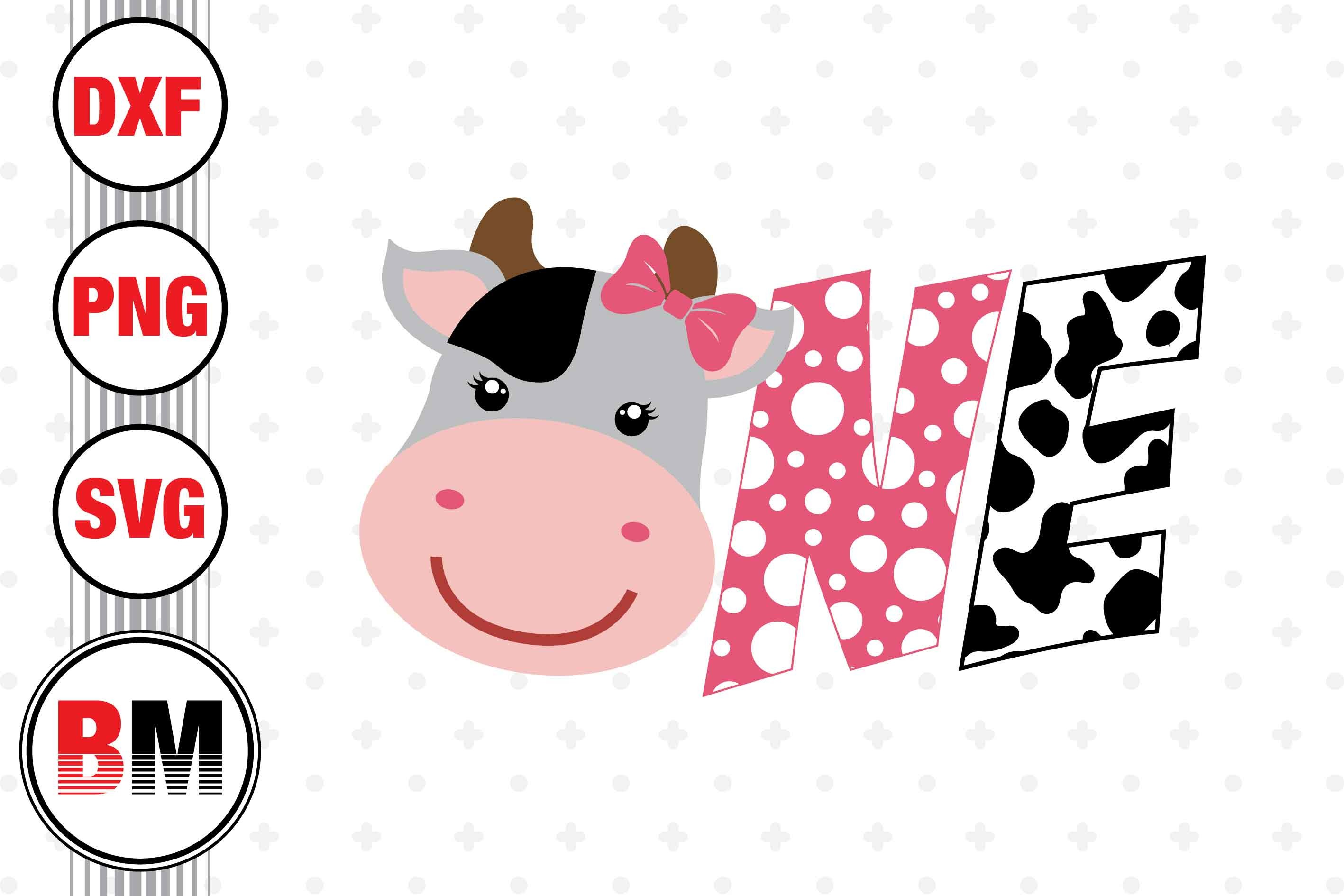 One Cow SVG File