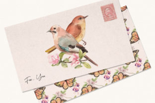 Spring Birds of Spring Watercolor Graphic Illustrations By WatercolorEps 4