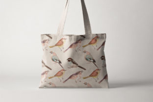 Spring Birds of Spring Watercolor Graphic Illustrations By WatercolorEps 9