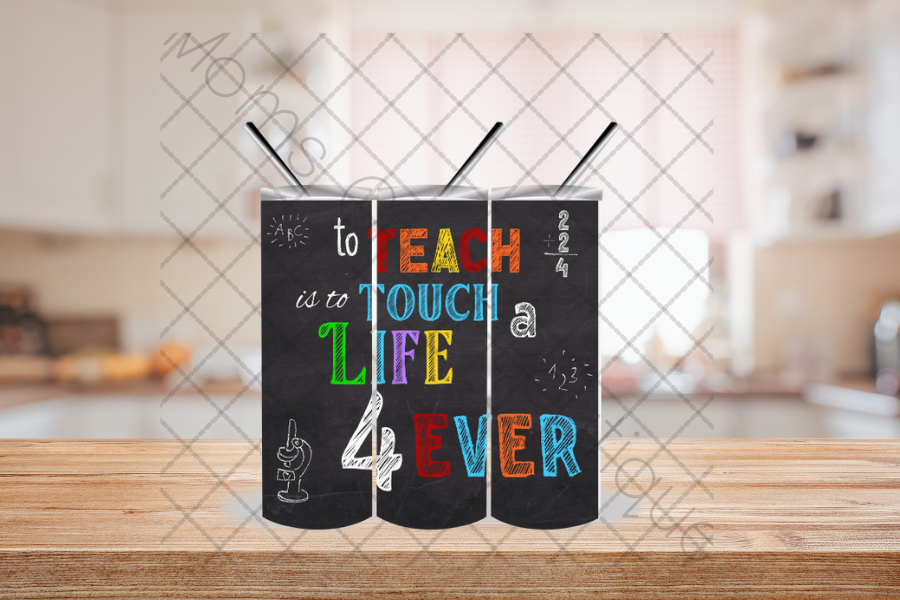 To Teach - Touch a Life 4... SVG File