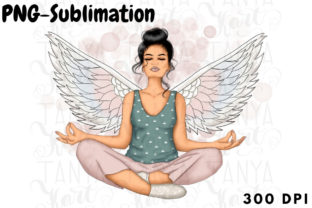 Yoga Sublimation Mindfulness Png Graphic Illustrations By Tanya Kart