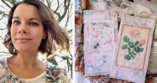 Lindsey Shares Her Passion & Love for Handmade Junk Journals