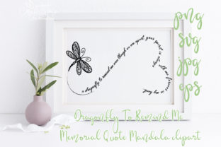 Print on Demand: Dragonfly to Remind Me Graphic Crafts By CosyArtStore by RivusDea 1