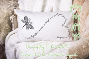 Print on Demand: Dragonfly to Remind Me Graphic Crafts By CosyArtStore by RivusDea 2