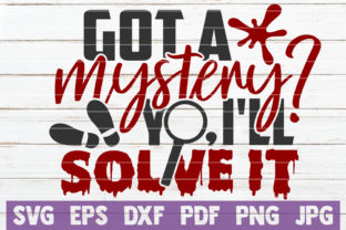 Got a Mystery Yo, I'll Solve It Graphic Crafts By MintyMarshmallows