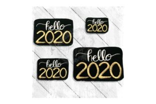 Hello 2020 Anniversary Embroidery Design By Yours Truly Designs
